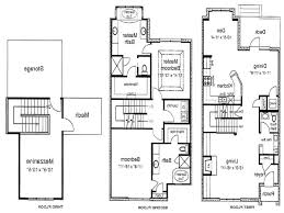 home design 3 bedroom 2 story house plans storey within 93
