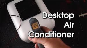 Desk Top Air Conditioner Side Project Desktop