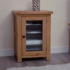 Solid Oak Furniture Original Rustic Solid Oak Furniture Hi Fi Cabinet Hi Fi Cabinets