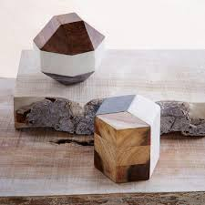 wood geometric marble wood geometric objects west elm au