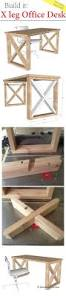 x leg office desk sawdust