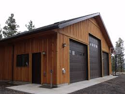 Monitor Style Barn by Shop Garage Michael R Taylor Construction