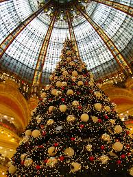 the christmas tree at galeries lafayette paris xmas 2007 u2026 flickr