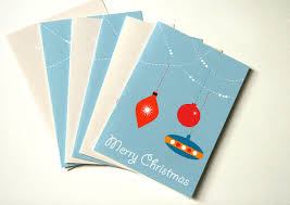 sale half price pack of six cards bauble cards