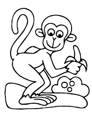 printable coloring pages monkeys monkey printable coloring pages monkey color page free coloring