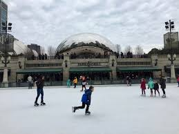 christkindlmarket outdoor ice rinks open in downtown chicago