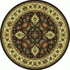 Black Round Rug Shop Oriental Weavers Of America Braden Black Round Indoor Machine