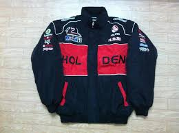 holden racing team logo embroidery logo f1 fia nascar indycar racing cotton jacket for