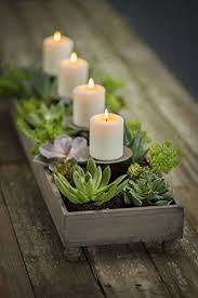 candle centerpiece vagabond vintage 4 candle centerpiece planter home