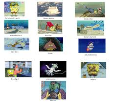 Call Of Duty Black Ops 2 Memes - spongebob call of duty in a nutshell spongebob comparison charts