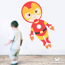 ironman flying stickers for kids ironman flying