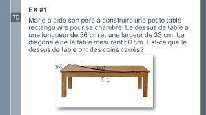 construire sa chambre ex 1 a aidé père à construire une table