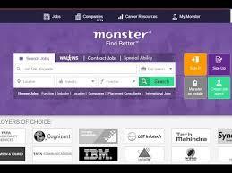 deactive monsterindia account