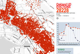 san francisco eviction map oakland unlawful detainer evictions anti eviction mapping project