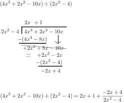 prior to calculus polynomial division calculustricks com