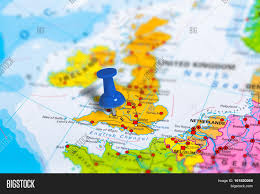 Political Map Of Europe by Bristol In United Kingdom Pinned On Colorful Political Map Of