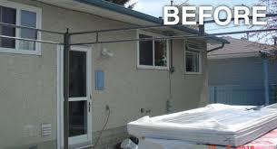 exterior renovation calgary photo gallery dws renovations