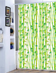 Shower Curtain Green East Green Bamboo Grove Fabric Shower Curtain M3000 Wholesale