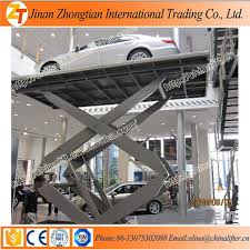 used electric lift table meet europe requirements scissor car lift electric car lift for