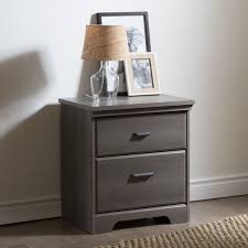 light oak nightstand for a bright bedroom decoration