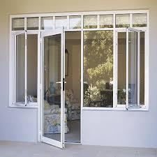 aluminium french door for balcony patio view aluminium french
