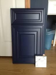 sherwin williams navy blue kitchen cabinets my cabinet door came in kitchens forum gardenweb