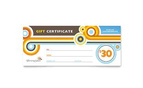 salon gift card tanning salon gift certificate template design