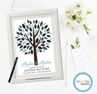 tree signing for wedding wedding signing and fingerprint trees board in australia