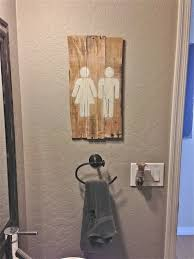 His And Hers Bathroom by 25 Best Bathroom Pallet Projects Ideas And Designs For 2017