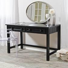 avalon 4 drawer vanity desk dark truffle hayneedle