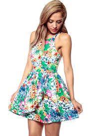 wild garden woven skater dress cicihot dresses dress