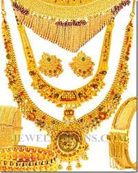 24 karat gold typical bridal set asian weddings are expensive
