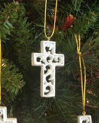 unity cross ornament