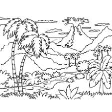 coloring pages volcano top 10 free printable volcano coloring pages online