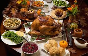 thanksgiving dinner schedule