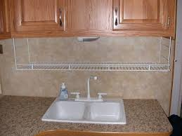 wire shelf for kitchen suspended from cabinets camping and the