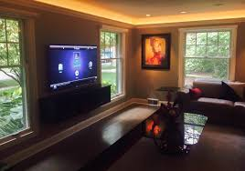golf simulator home theater syntronic av syntronic systems michigan control4 and home