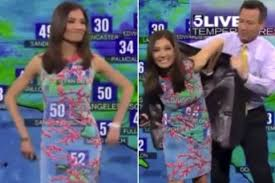primejailbait little black girl this footage of a weather girl has gone viral but can you see why