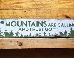 the mountains are calling etsy