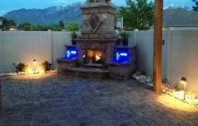 outdoor landscape lighting in salt lake city and park city