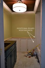 Recessed Wainscoting Panels Recessed Panel Wainscoting With Tile Accent U2013 Part 1