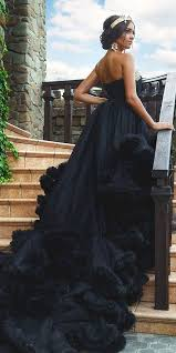 black wedding dress the 25 best black wedding dresses ideas on black