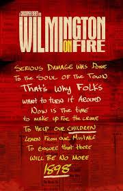 wilmington on fire