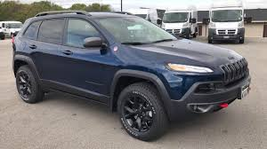 jeep compass trailhawk 2017 colors 2018 jeep cherokee trailhawk l plus new patriot blue color 4x4
