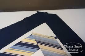 free men u0027s neck tie pattern and tutorial sweet shop sewing