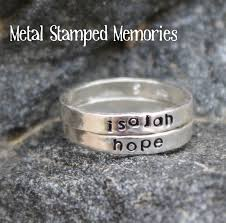 stacking name rings angel jewelry gifts of angel rings and earrings metal