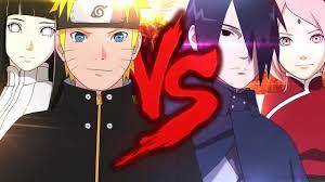 naruto naruto e hinata vs sasuke e sakura duelo de titãs part felícia