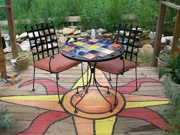 deck painting ideas outdoor spaces patio ideas decks u0026 gardens