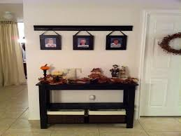 Black Entryway Table Black Foyer Table Unique Hardscape Design Decorate Your