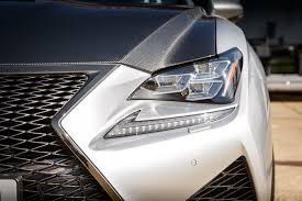 lexus v8 rcf driven lexus rc f carbon review